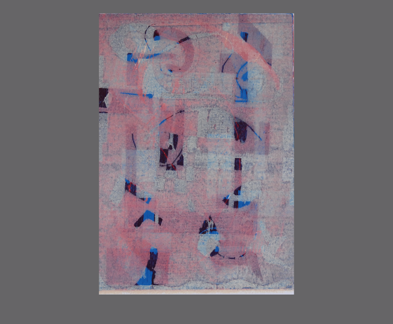 Ohne Titel<br />mehrfarbiger Holzschnitt – Format ca. 30 x 40 cm