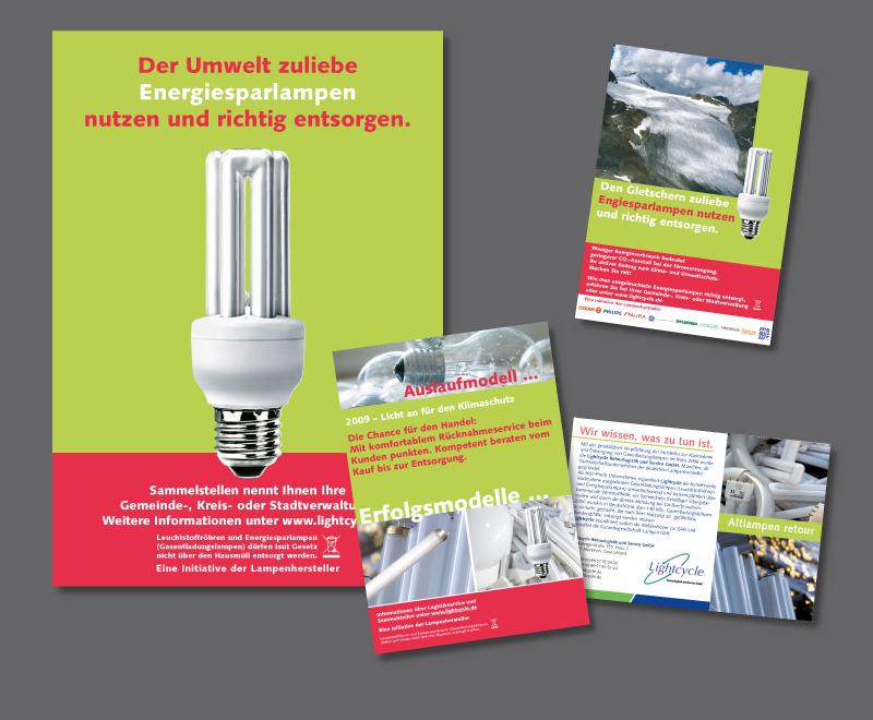 Anzeige SZ Herbst 2008, Fachmagazine und DAV Zeitschrift<br /> Auftraggeber: MPA Marketing & Public Relations Agentur GmbH für Lightcycle Retourlogistik und Service GmbH